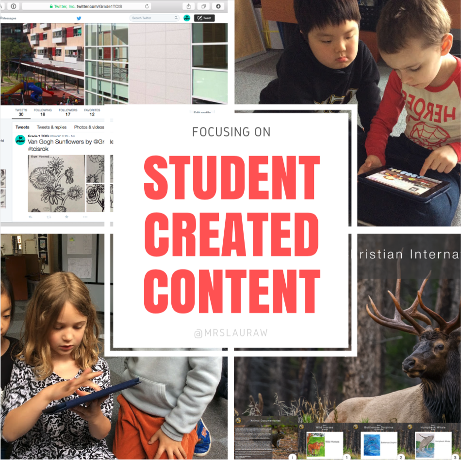 Student Created COntent